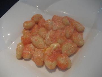 ジャガイモのニョッキ ピリ辛たらこの軽いクリームあえ