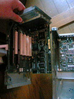 古いパソコンの内部_バスカード部2