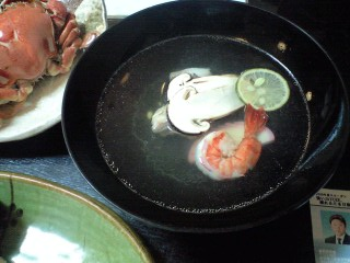 初物・マツタケ