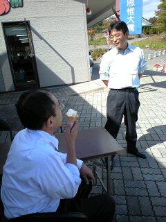 樋口会長と田高さん