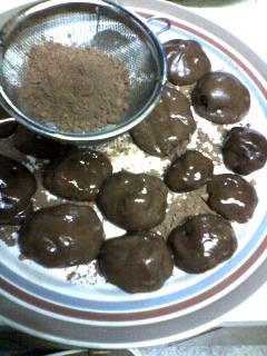 チョコ大福1