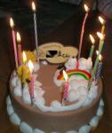 11歳ケーキ