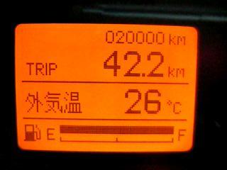 総走行距離2万キロ達成!