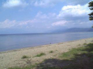 船津浜(猪苗代湖)
