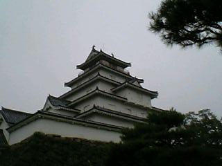 朝の鶴ヶ城