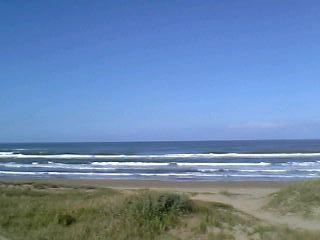 高松SAから見える海