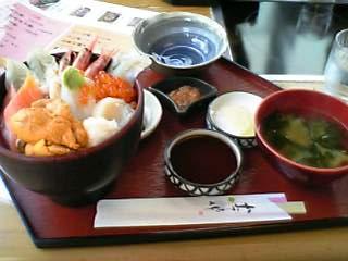 海鮮丼@海鮮茶屋