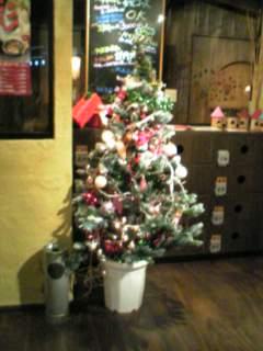 クリスマスツリー@とりでん