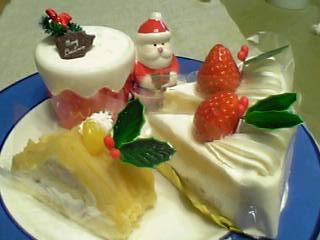 2005年のクリスマスケーキ