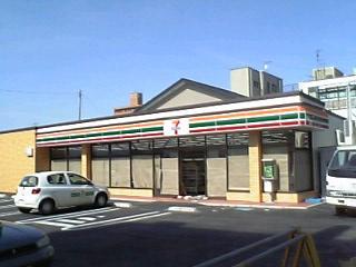 セブンイレブンの新店舗