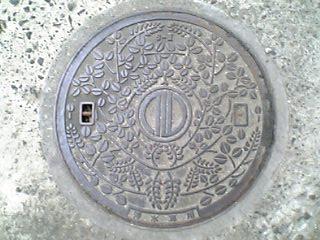 仙台市のマンホール