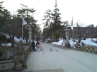 松が岬公園。上杉公園とも言ったかな。
