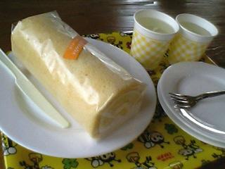 はちみつロールケーキ&はちみつレモン