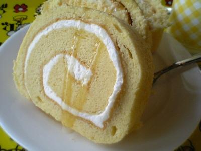 はちみつロールケーキ(はちみつがけ)