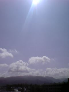 ある日の空:2006年8月31日