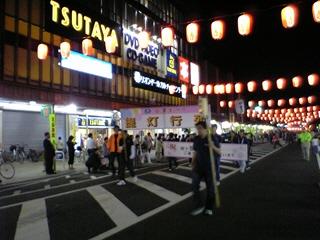 会津まつり「提灯行列」