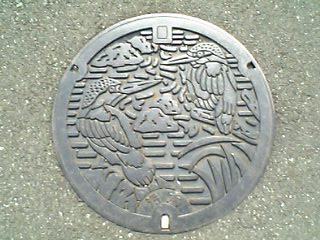 東京都日野市のマンホール