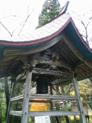 新宮熊野神社、鐘楼の銅鐘