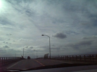 塩川町の空(2006/11/23)