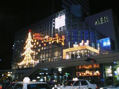 AERのクリスマスイルミネーション