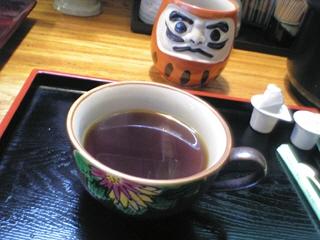 食後のコーヒー(無料)@渡