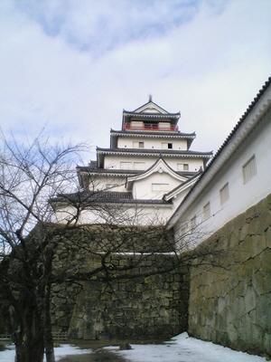 鶴ヶ城(鉄門より)
