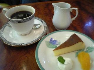 昔ながらのミニチーズケーキ@喫茶杏(末廣酒造)