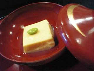 とうもろこしの豆腐@料理旅館田事