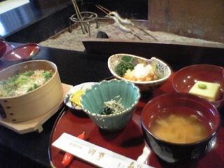 めっぱめしの昼食セット@料理旅館田事