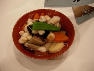 会津の伝統料理こづゆ@会津若松ワシントンホテル