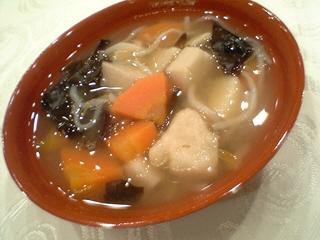 会津の伝統料理こづゆ@籠太(会津若松市)