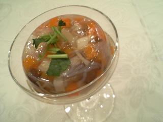 会津の伝統料理こづゆ@きよ彦プロデュース