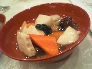 会津の伝統料理こづゆ@NPO法人はいっと(南会津町)