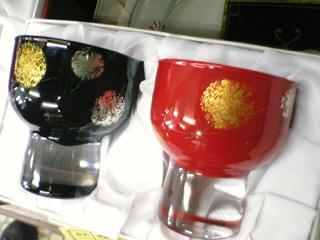 斎藤恒緒さんのガラス工芸うるし塗り