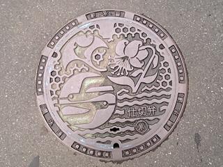 鎌倉市のマンホール