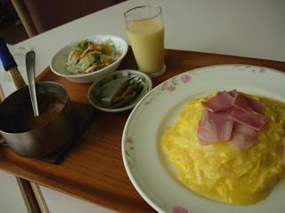 ふわふわカレー@牧場の朝レストラン