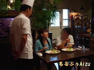 パブレストラン二光@白河(ゴジてれシャトルカレー特集ロケ