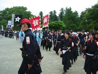 会津藩公行列2007