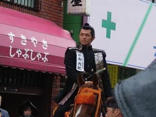 白虎隊士中二番隊長 日向内記(的場浩司)@会津藩公行列2007
