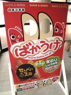 ばかうけ@せんべい王国(栗山米菓)