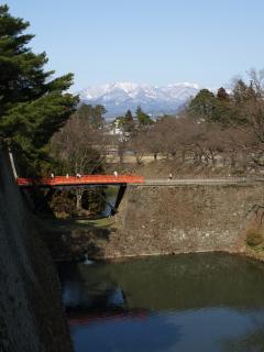 廊下橋(本丸~二の丸)@鶴ヶ城