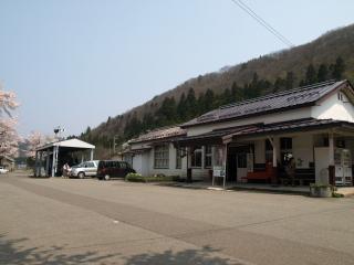 JR会津柳津駅