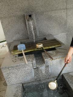 弘法大師の大清水