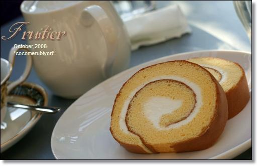 Fruitierロールケーキ