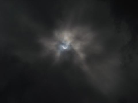 日食 滋賀