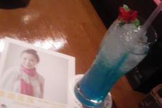 active blue 1200円 (松浦亜弥オリジナルカクテル)
