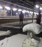 松浦亜弥さん専門ブログ エルダー紺行きの南彦根駅
