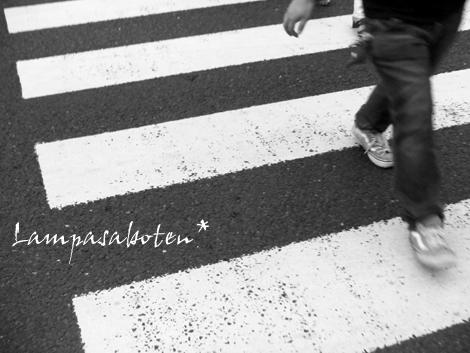 モノクロ横断歩道