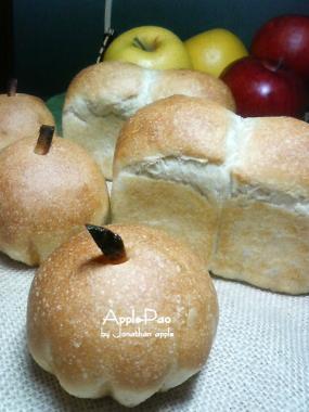 20081126りんご酵母パン31