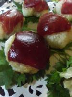 20081224Xmas手まり寿司